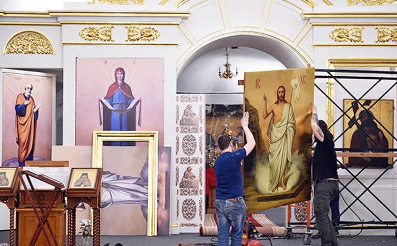 Специалисты из Сергиева Посада восстановили иконостас кафедрального собора Вологды
